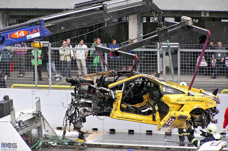 FIA GT: ošklivá havárie při závodě v Brně: - fotka 8