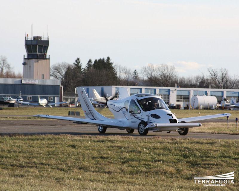 Terrafugia Transition: Létající auto aneb Fantomas by měl radost: - fotka 9