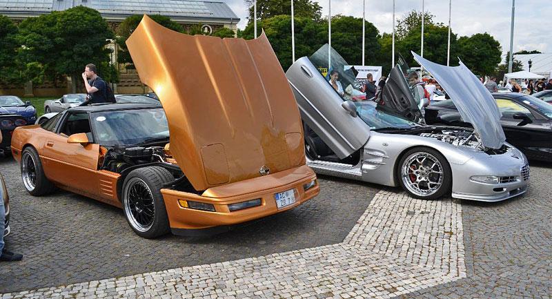 Corvette sraz Praha 2012: velká fotogalerie: - fotka 92