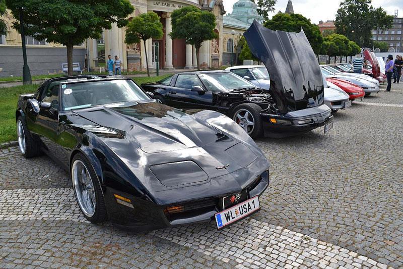 Corvette sraz Praha 2012: velká fotogalerie: - fotka 93