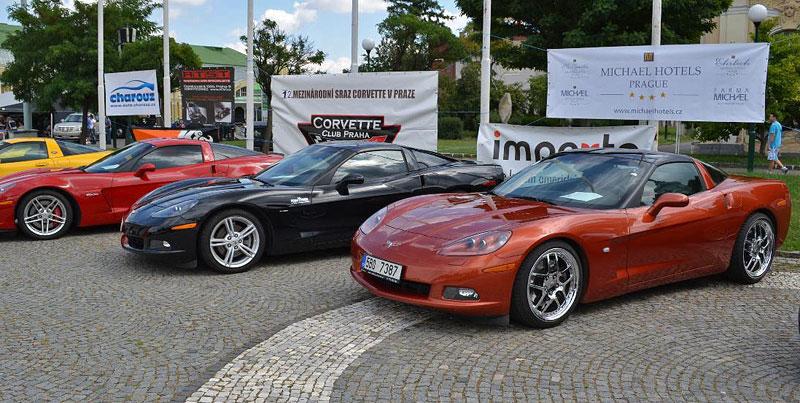 Corvette sraz Praha 2012: velká fotogalerie: - fotka 94