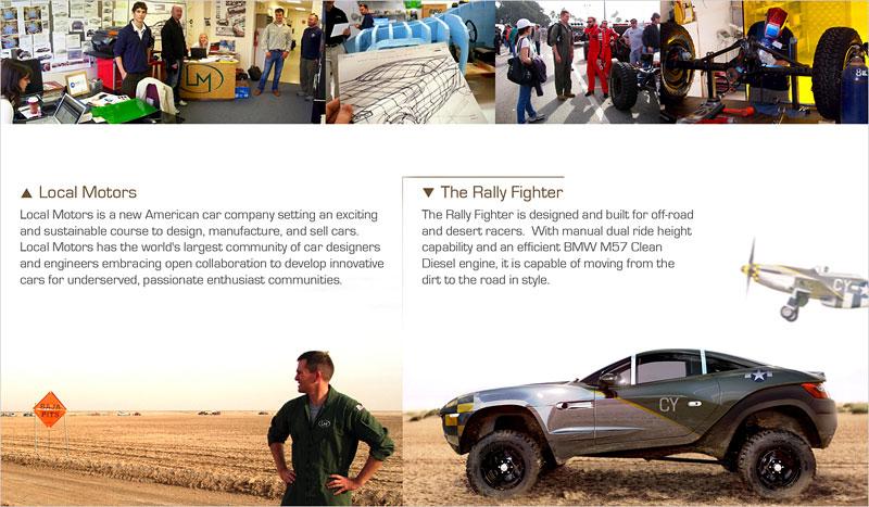 Local Motors Rally Fighter: off-road inspirovaný stíhačkou: - fotka 9