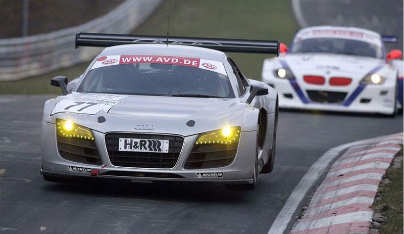 Audi R8 LMS: sedm vozů na 24 hodin Nürburgringu: - fotka 9