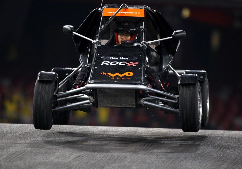 Alain Prost se zúčastní Race of Champions 2010: - fotka 8