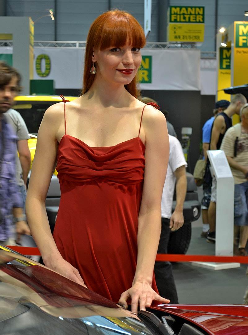 Autosalon Brno 2011: Babes: - fotka 9