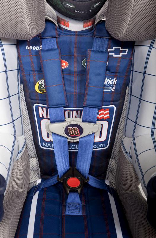 Dětská autosedačka pro malé Batmany a závodníky NASCAR: - fotka 9
