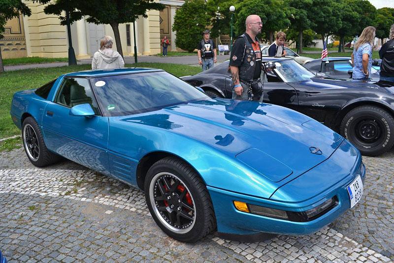 Corvette sraz Praha 2012: velká fotogalerie: - fotka 100