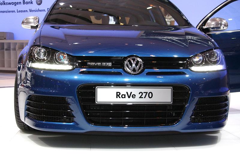 Essen 2007: Volkswagen Golf Variant RaVe 270: - fotka 8