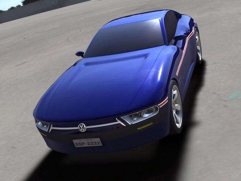VW SP-2 Concept: Scirocco by mohlo mít sourozence: - fotka 1