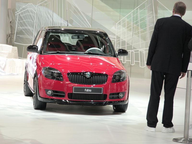Autosalon Ženeva: Škoda Fabia Sports Design Concept: - fotka 22