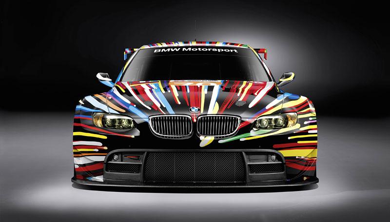 BMW Art Car na Le Mans: galerie na čtyřech kolech: - fotka 1