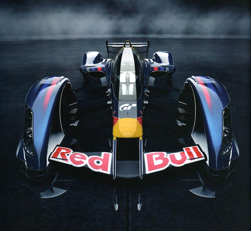 Red Bull X1 odhalen: rakouský 1483koňový projektil pro závodní okruhy: - fotka 1