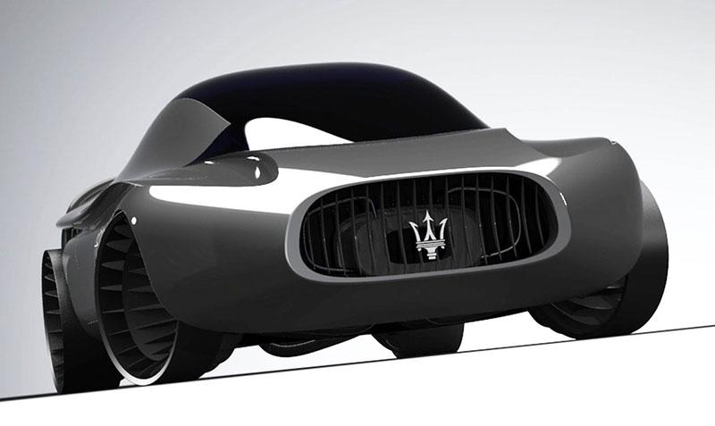 Maserati Quattroporte 2030: retro forever: - fotka 1