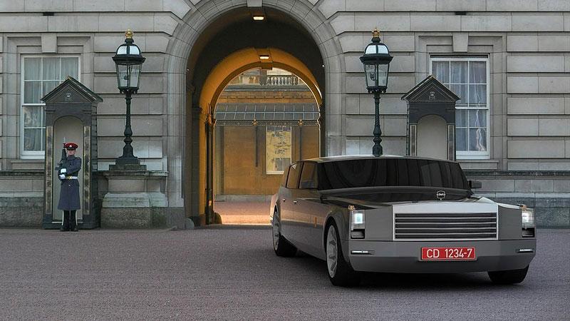 ZiL Concept: budoucnost prezidentských limuzín: - fotka 1