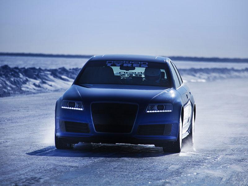 Nokian Tyres: rychlostní rekord Bentleye na ledu překonán!: - fotka 3