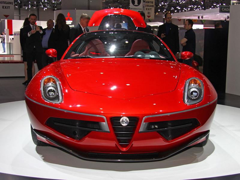 Carrozzeria Touring Superleggera Disco Volante: Z nehybného modelu produkční sportovec: - fotka 6