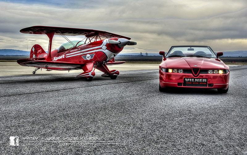 Vilner Il Mostro: Alfa Romeo RZ jako ze škatulky: - fotka 4