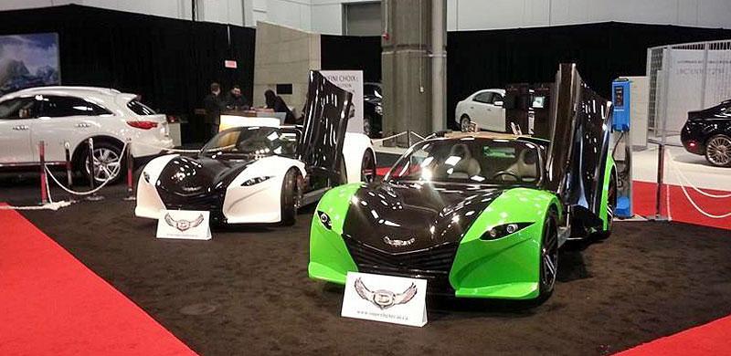 Video: Dubuc Motors Tomakawk je elektrický sporťák s pohonem všech kol: - fotka 1