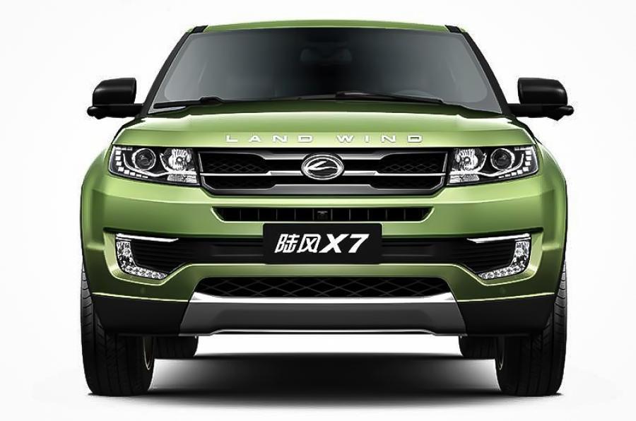 Landwind X7: Číňané se chlubí cizím peřím: - fotka 2