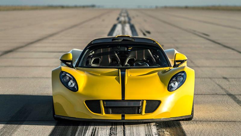 Hennessey Venom GT Spyder je nejrychlejší kabriolet na světě: - fotka 5
