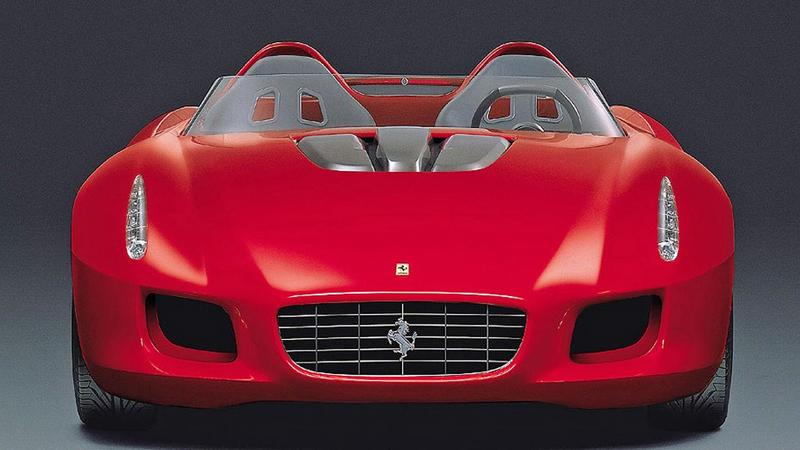 Pod lupou: Pininfarina Ferrari Rossa (2000) - Speedster k narozeninám: - fotka 3