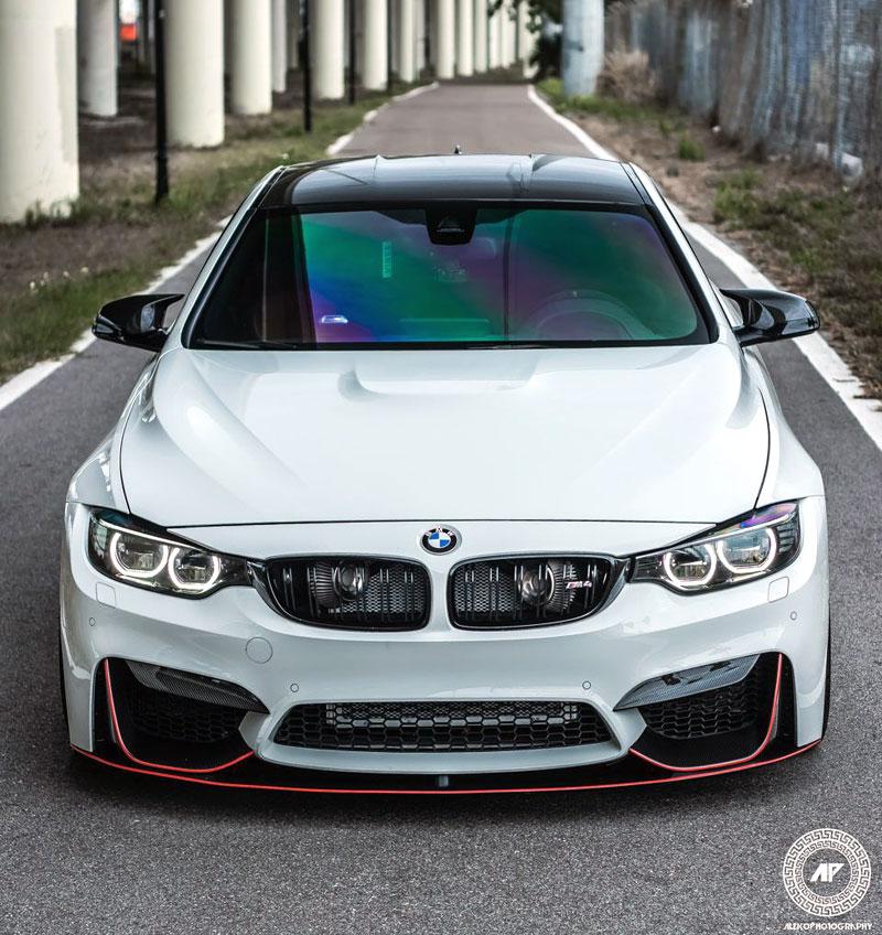 BMW M4 Coupé: Sněhobílý dravec s extrémním výkonem: - fotka 1