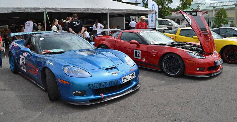 Corvette sraz Praha 2012: velká fotogalerie: - fotka 110