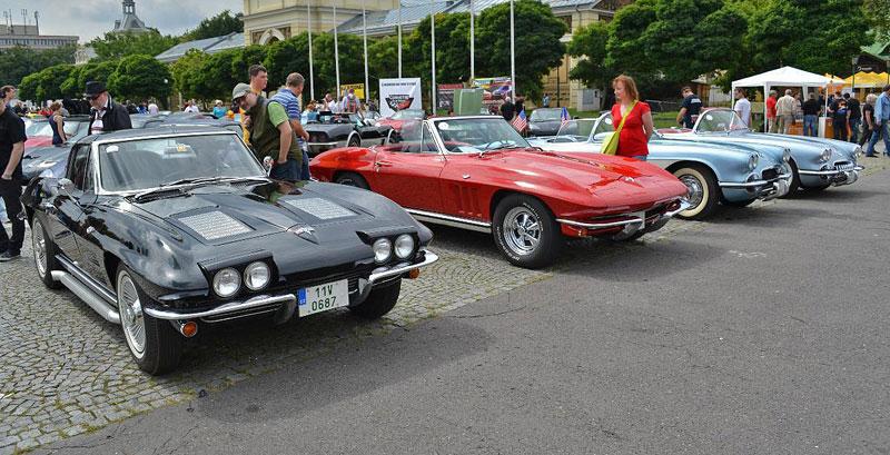 Corvette sraz Praha 2012: velká fotogalerie: - fotka 111