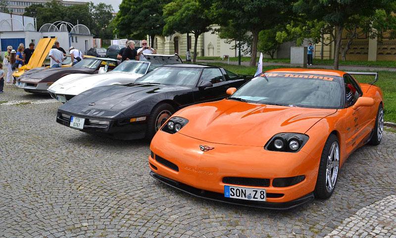 Corvette sraz Praha 2012: velká fotogalerie: - fotka 113