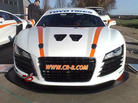 Audi CR-8: Premiérový pokus: - fotka 2