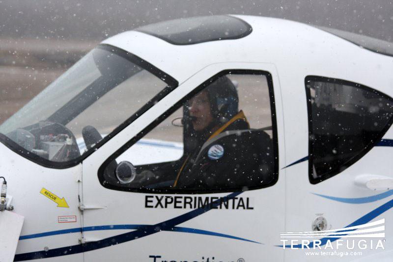 Terrafugia Transition: letadlo schopné jízdy po silnici: - fotka 10