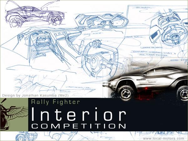 Local Motors Rally Fighter: off-road inspirovaný stíhačkou: - fotka 11
