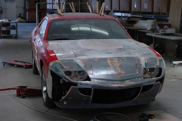 HPP Dodge Challenger Daytona Concept: - fotka 4
