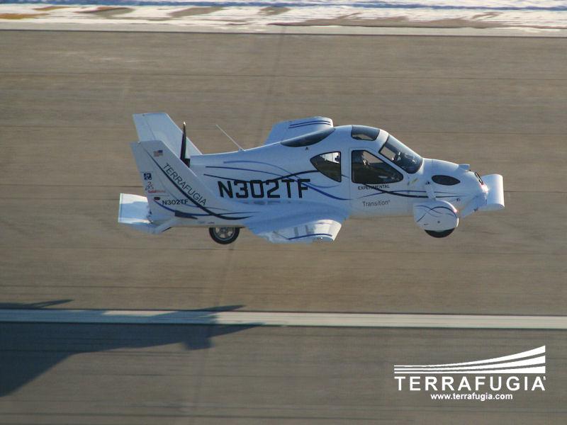 Terrafugia Transition: Létající auto aneb Fantomas by měl radost: - fotka 12