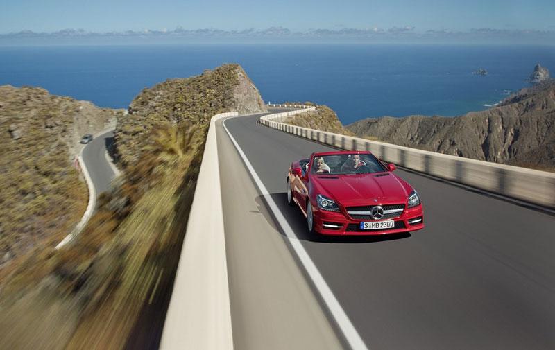Mercedes-Benz SLK v akci: oficiální videa: - fotka 9