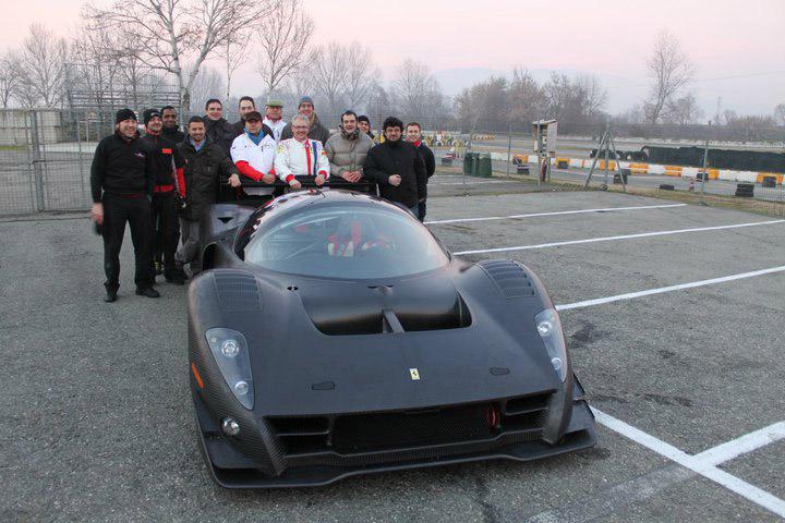 Ferrari P4/5 Competizione poprvé na trati: - fotka 2