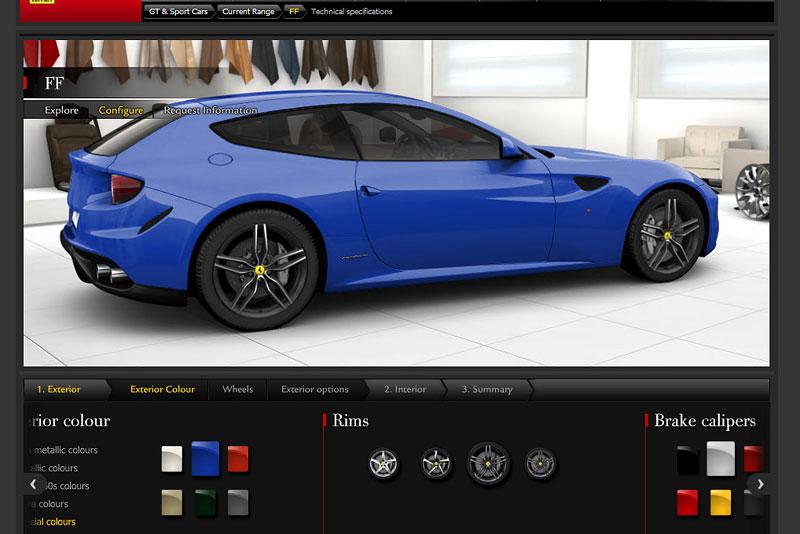 Ferrari FF: konfigurátor nejen na neděli: - fotka 11