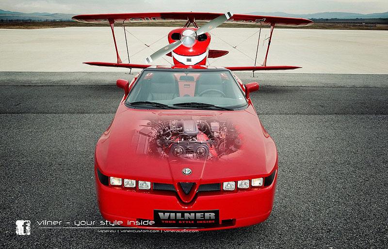 Vilner Il Mostro: Alfa Romeo RZ jako ze škatulky: - fotka 5