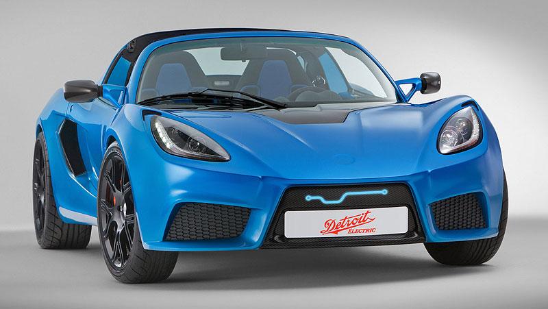 Detroit Electric SP:01: nepřímý nástupce pro Tesla Roadster: - fotka 2