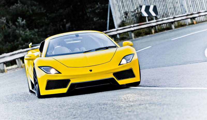 Arash AF8: Britský supersport se 7,0 V8 (410 kW): - fotka 2