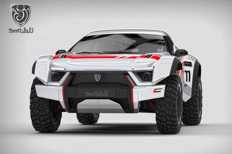 Zarooq Motors Sand Racer: Arabský supersportovní off-road bude mít přes 500 koní: - fotka 1
