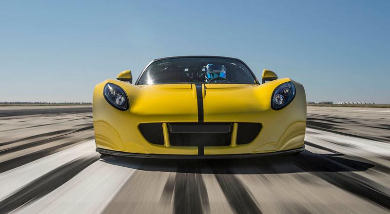 Hennessey Venom GT Spyder je nejrychlejší kabriolet na světě: - fotka 6