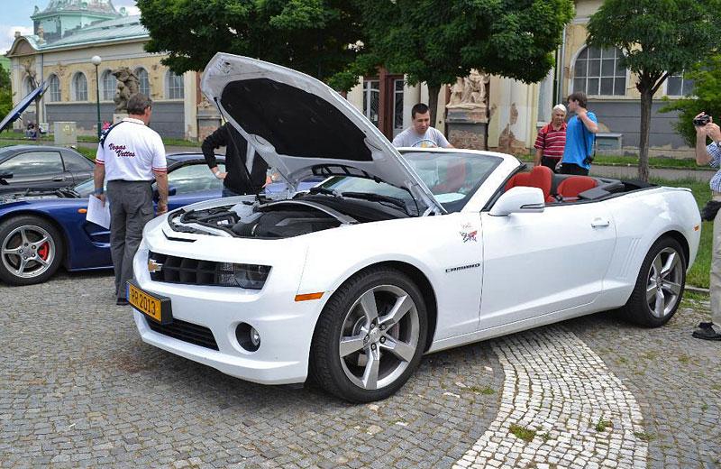 Corvette sraz Praha 2012: velká fotogalerie: - fotka 120