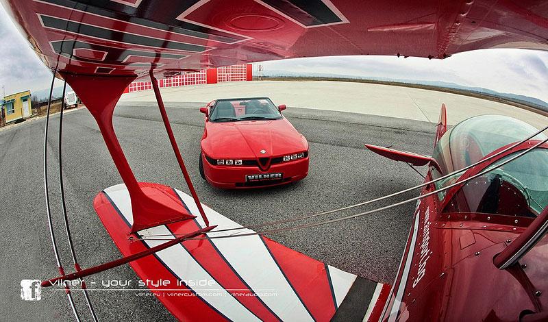 Vilner Il Mostro: Alfa Romeo RZ jako ze škatulky: - fotka 6