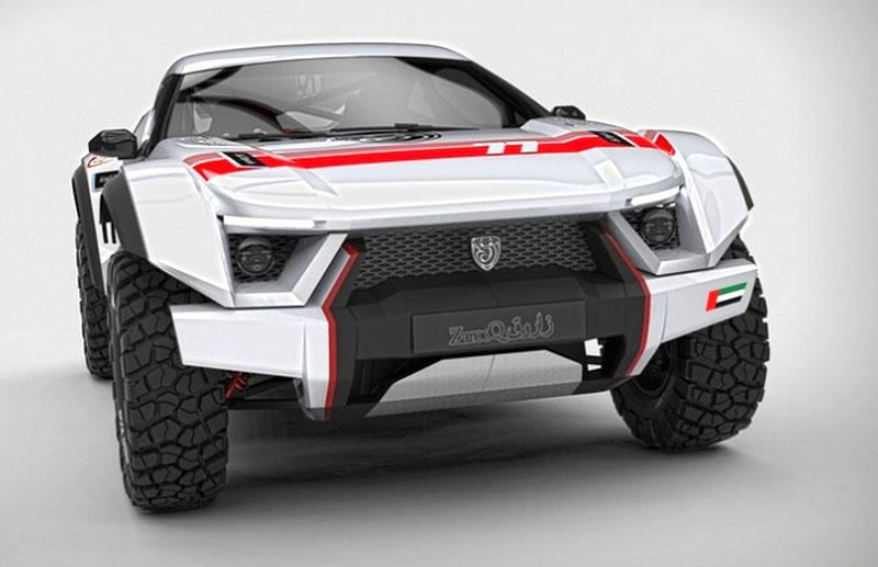 Zarooq Motors Sand Racer: Arabský supersportovní off-road bude mít přes 500 koní: - fotka 2