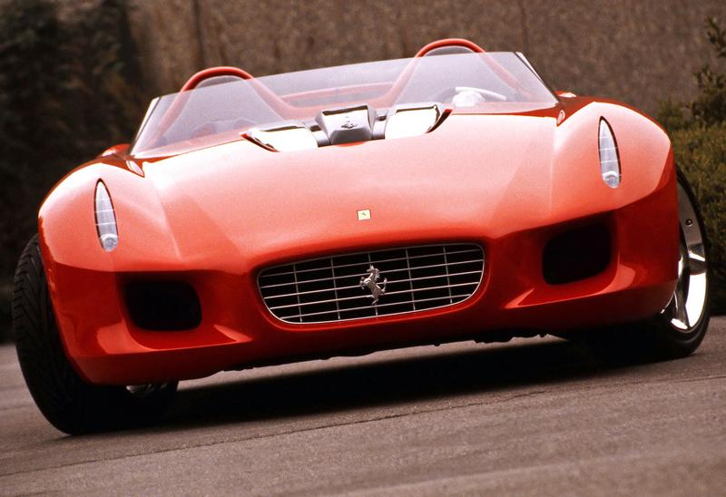 Pod lupou: Pininfarina Ferrari Rossa (2000) - Speedster k narozeninám: - fotka 4