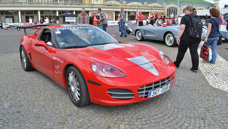 Corvette sraz Praha 2012: velká fotogalerie: - fotka 133
