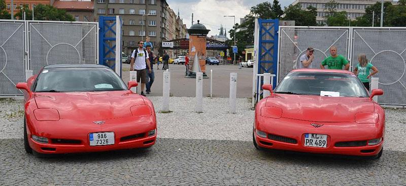 Corvette sraz Praha 2012: velká fotogalerie: - fotka 138