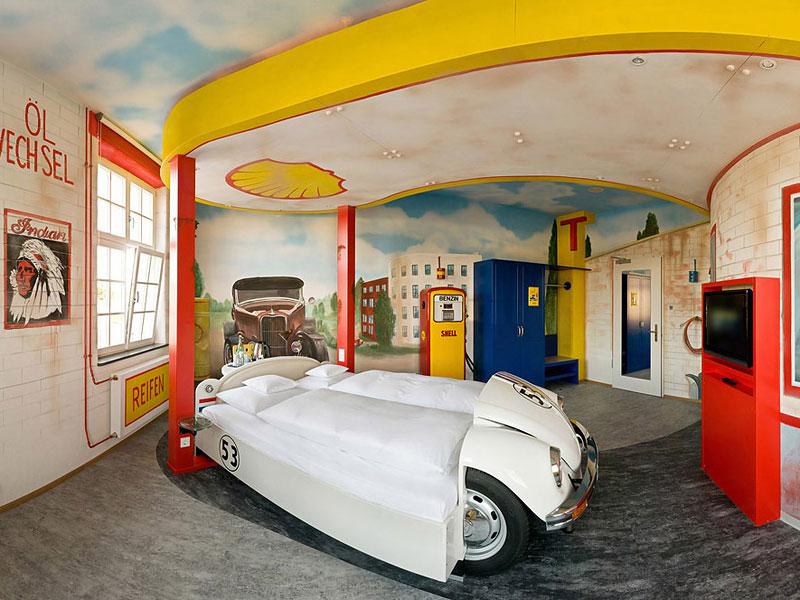 V8 hotel ve Stuttgartu: kdy jste naposledy přespali v myčce?: - fotka 13