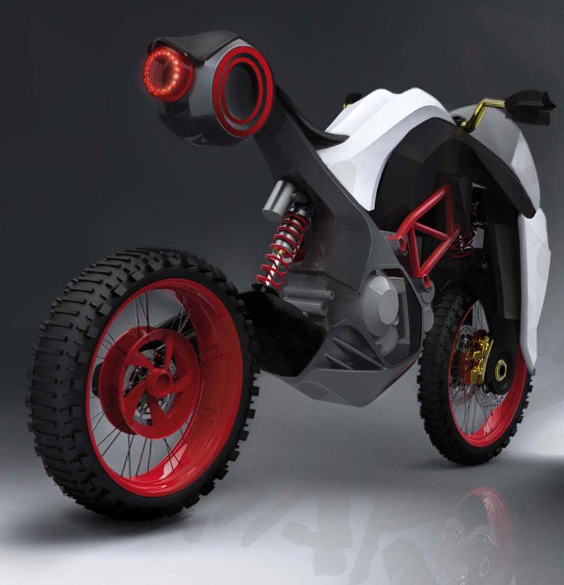 Ducati Students Concept – mládí vpřed: - fotka 13